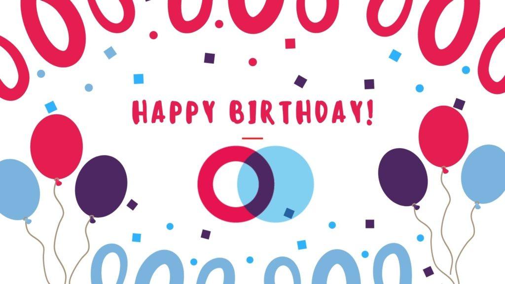 Confetti Birthday Facebook Cover